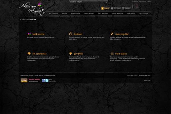 web site - destek