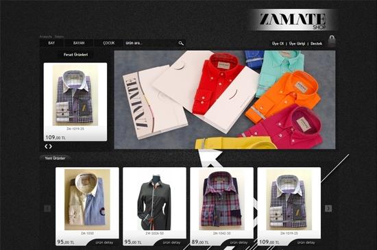 web site - e-ticaret anasayfa