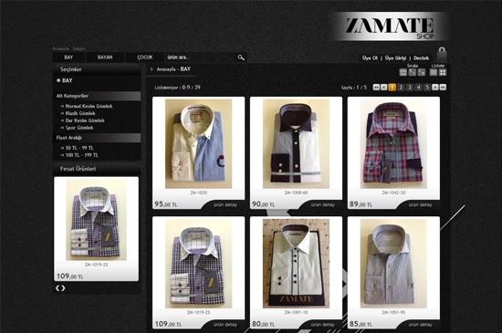 web site - e-ticaret ürünler