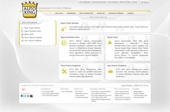 web site - özel uygulamalar