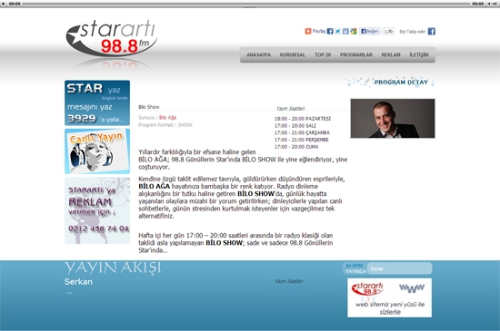 web site - program detay