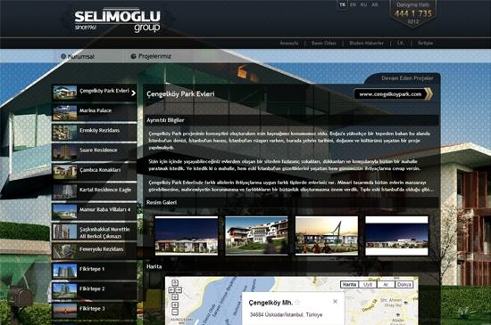web site - projeler