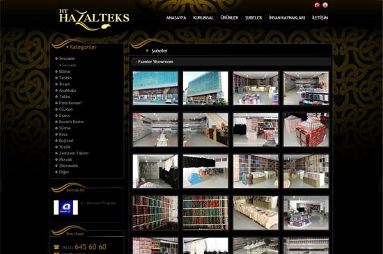 web site - şubeler