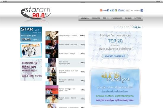 web site - top20