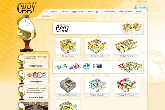 web site - ürünler